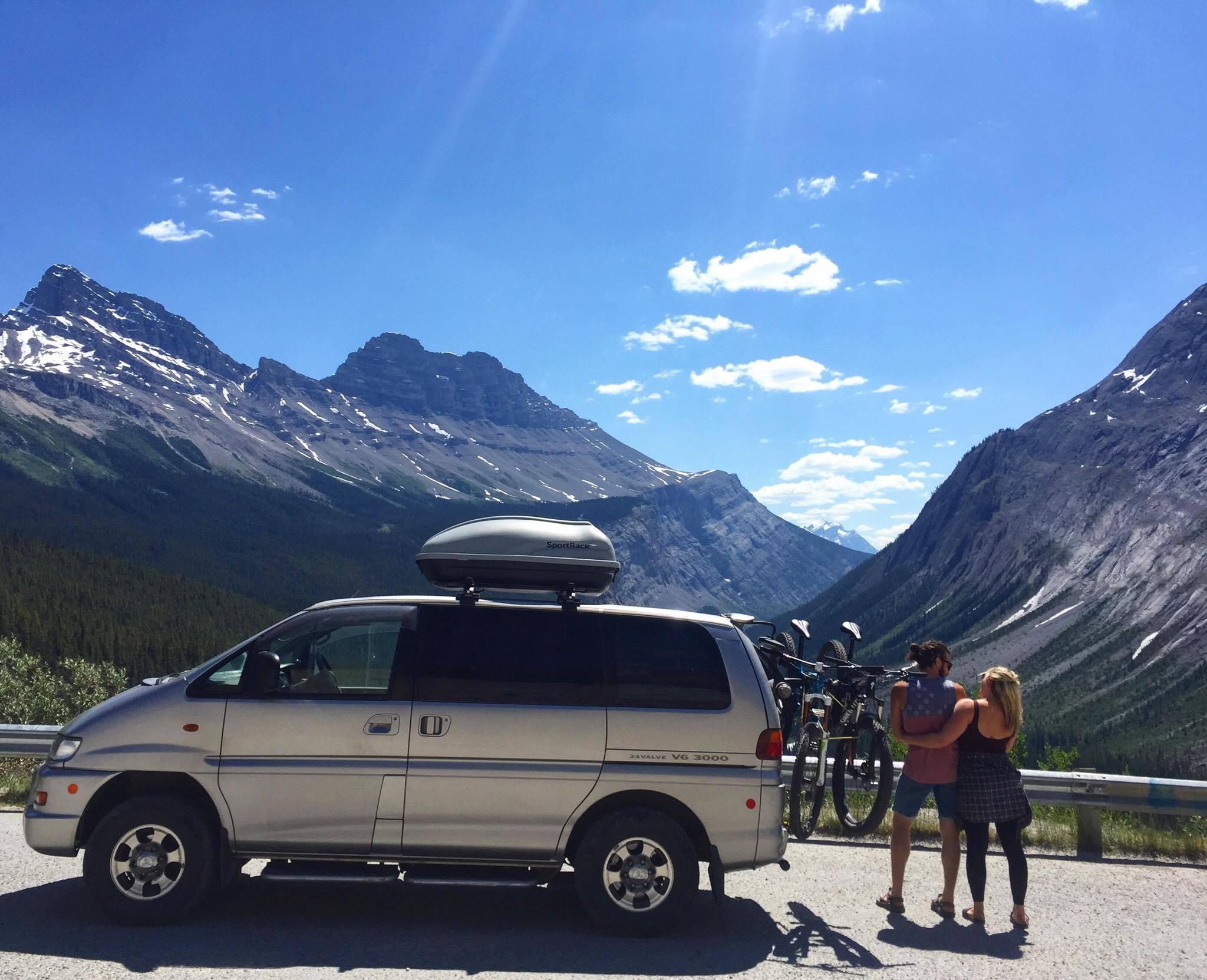 Campervan rental Canada