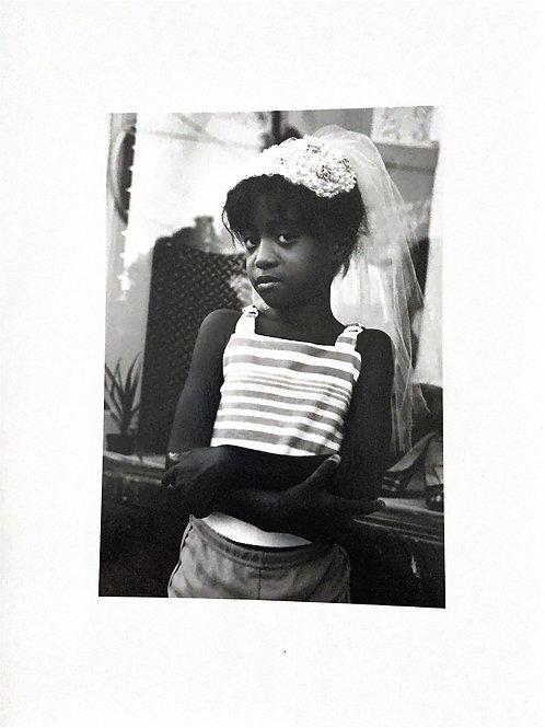 Girl with Veil, Atlanta, GA - 11x14