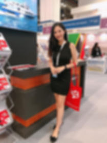 Natalie at SEA Asia April 9-11,2019 in S