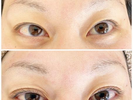 【まつげ・眉毛デザイン】30代女性