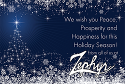 Zephyr Holiday Cards