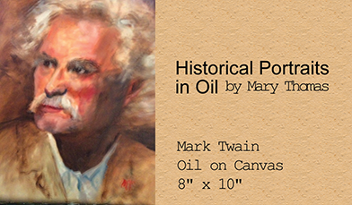 Historical Portraits in Oil