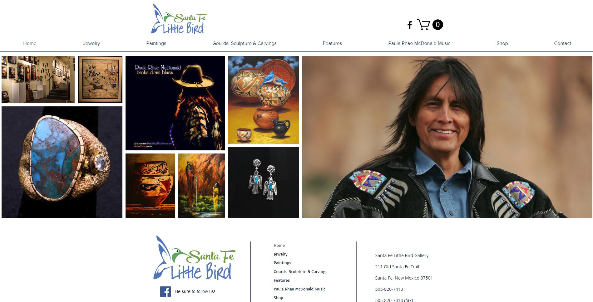 Santa Fe Little Bird Art Gallery