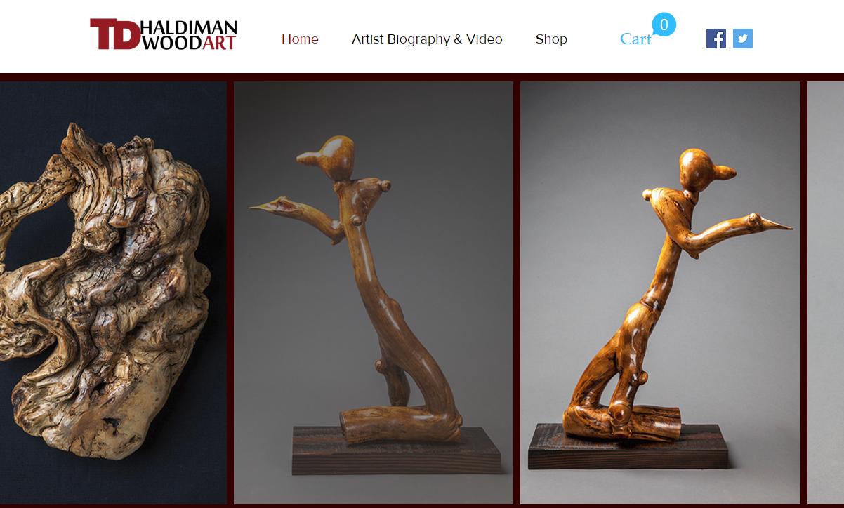 TDHaldiman Website redesign