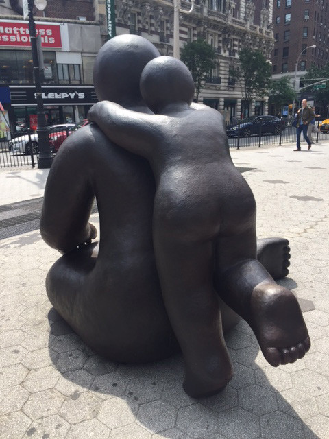 Sculpture on Broadway
