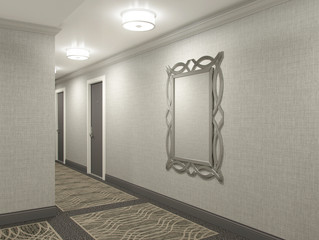 OUR NEWEST HALLWAY DESIGN