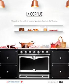 """CAMPAGNE PUBLICITAIRE LA CORNUE, """"CORNUFE ALBERTINE"""""""
