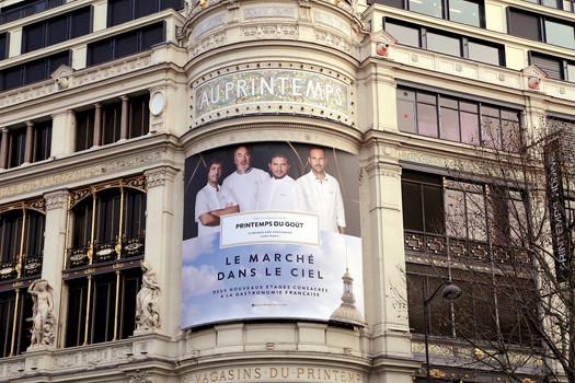 CAMPAGNE PUBLICITAIRE POUR LE PRINTEMPS DU GOÛT, PARIS