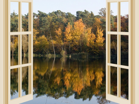 The Cool Wind is Blowing! Do you prefer keeping your windows Open or Closed? #autumn, #stmb