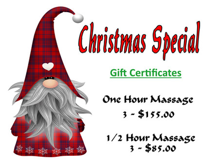 Save on Massage Gift Certificates