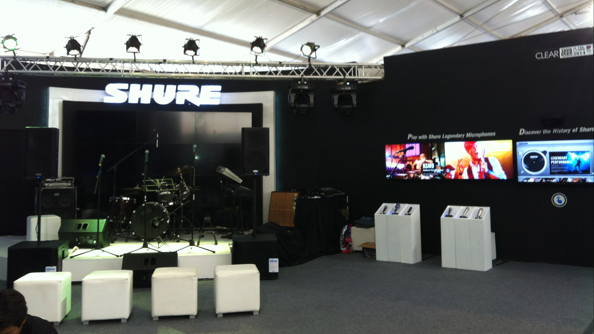 Main Stage and Interactive Area