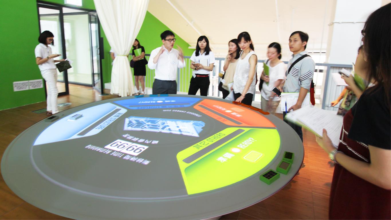 ZCB/ Embodied Carbon Area exhibit