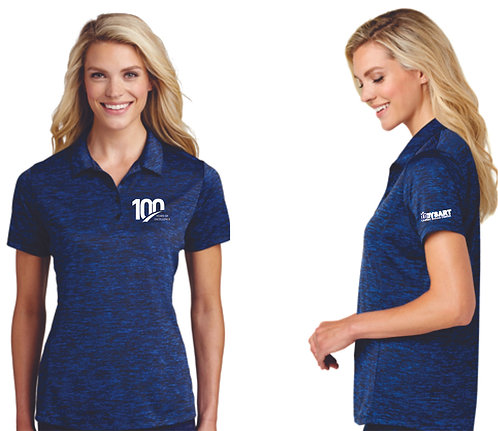 LST590, Sport-Tek® PosiCharge® Electric Heather Polo