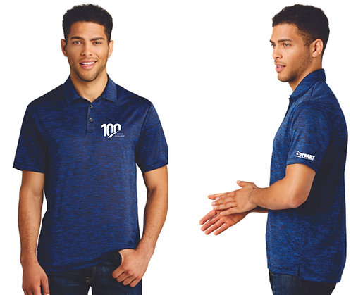 ST590, Sport-Tek® PosiCharge® Electric Heather Polo