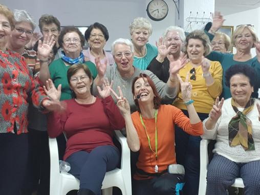 Danzaterapia en asociaciones de mujeres