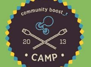 community boost_r camp logo