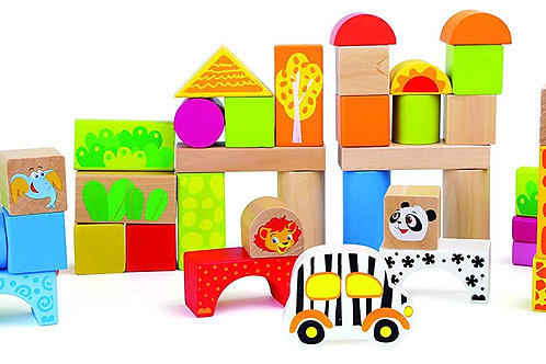 Legler Wooden Blocks Zoo