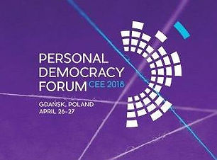 Personal Democracy Forum Central and Eastern Europe 2018 logo