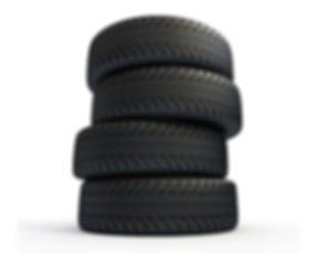 Set of 4 tires on Gogo Vault tire storage page, starting from $15 per month in GTA.