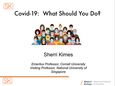 Covid-19:  What Should You Do?:  Part #1