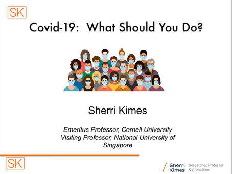Covid-19:  What Should You Do?:   Part 2