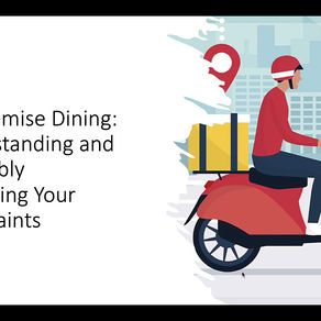 Off-Premise Dining:   Understanding and Profitably Managing Your Constraints