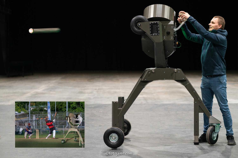 Beisbola treneris- Robots