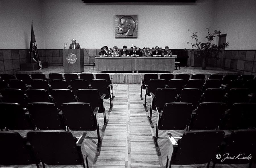 1986 dokumentāls foto