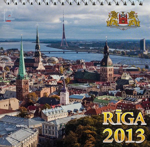 Kalendārs Rīga 2013
