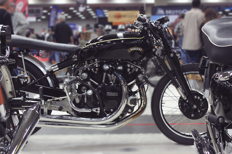Vincent Motorcycle | Meghan Stark