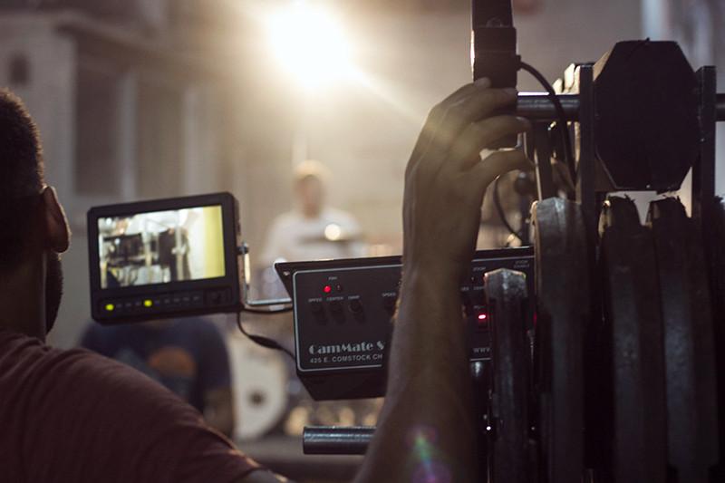 Filming Abby Jeanne's music video | Meghan Stark