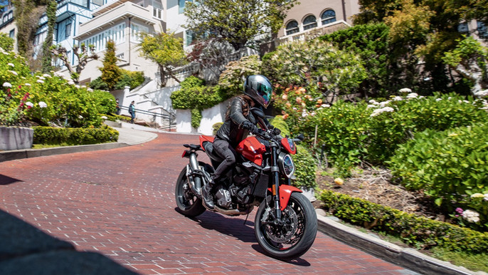 Test Riding the 2021 Ducati Monster