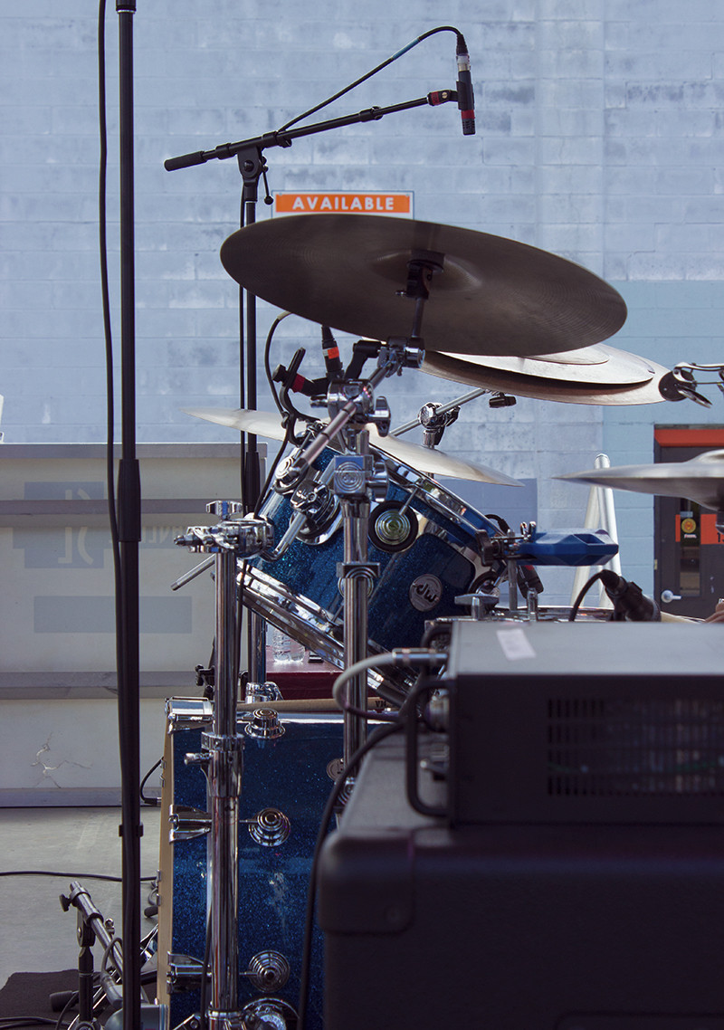 Blue DW Drums | Meghan Stark