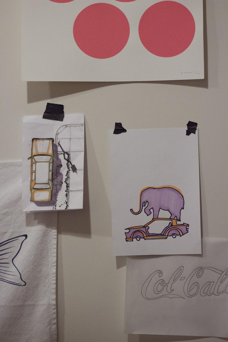 Colgate Sketches | Meghan Stark