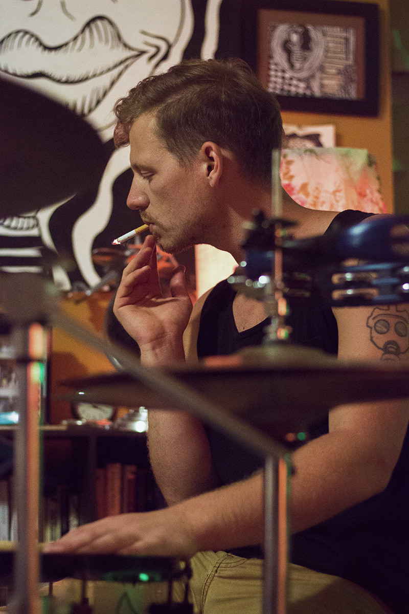 Smoking Drum | Meghan Stark