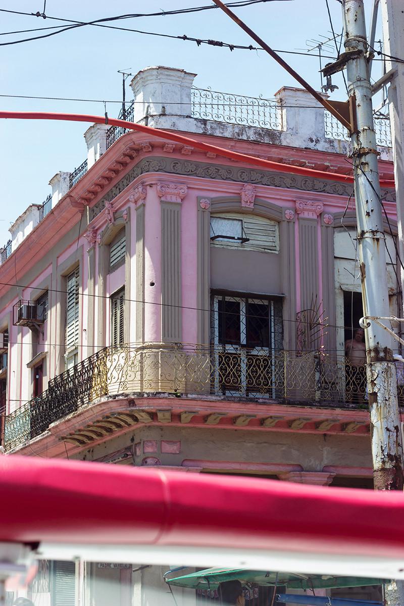Pink Balcony Views - Meghan Stark