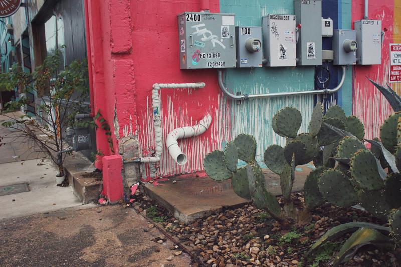 Austin Mural Drips | Meghan Stark