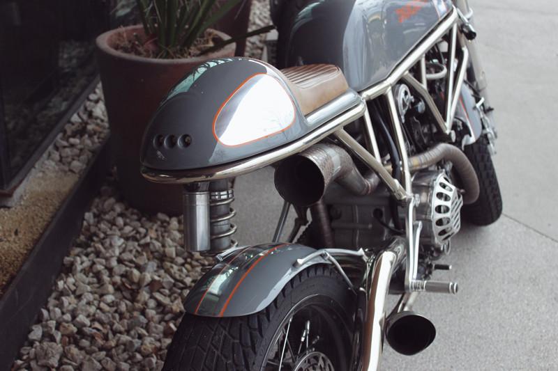 Revival Ducati Cafe | Meghan Stark