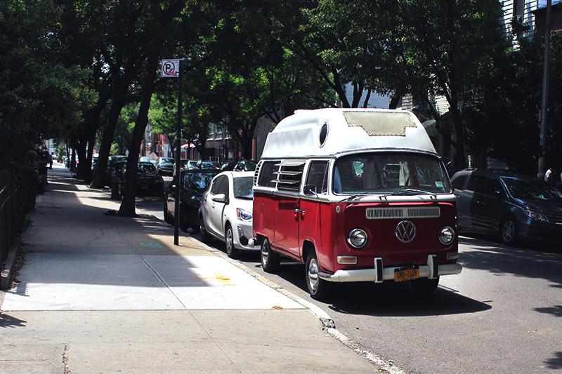 VW Bus in Brooklyn - Meghan Stark