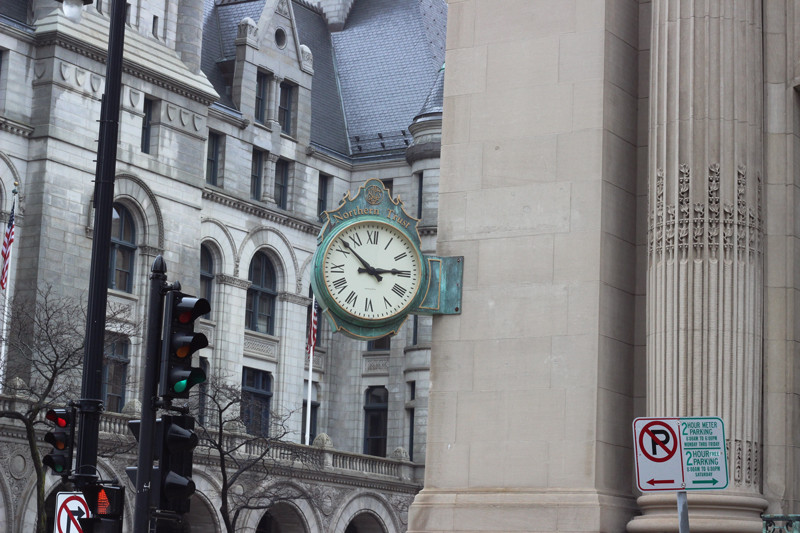 Clock Intersection | Meghan Stark