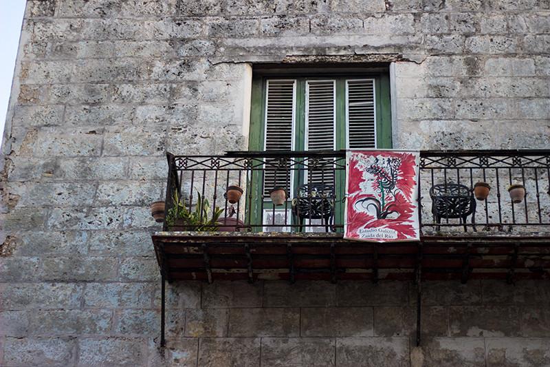 Old Havana Balcony - Meghan Stark