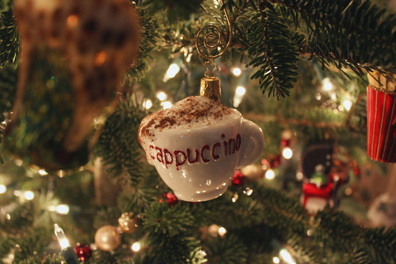 Christmas Tree Cappuccino | Meghan Stark