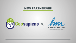 GEOSAPIENS AND HYDRO MÉTÉO WILL WORK TOGETHER TO PROVIDE A COMPLETE FLOOD MANAGEMENT SOLUTION