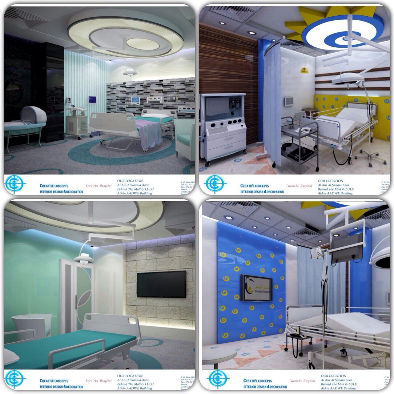 CCG Creative Concepts Group Health Projects (Hospitals