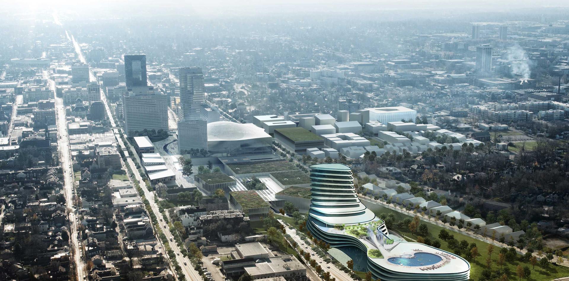 Hilton Hotel Abu Dhabi DRAMS Architects