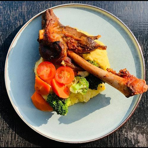 Stinco Di Agnello (Roasted Aussie Lamb Shank)