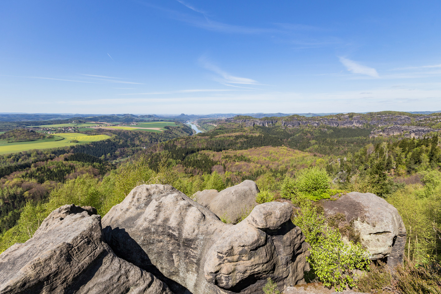 Blick vom Großen Winterberg