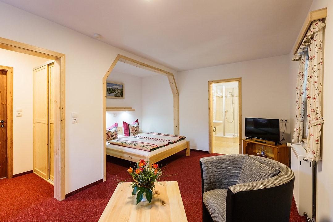 Zimmer des Hotels