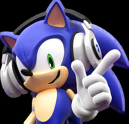 Sonic musique écouteur