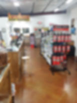 Here's a view of Frontier Firearms' shooting range entrance. We have huge selection of targets